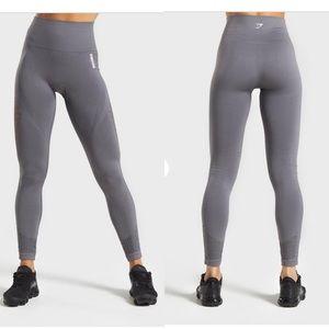 Gymshark energy + seamless leggings Smokey grey